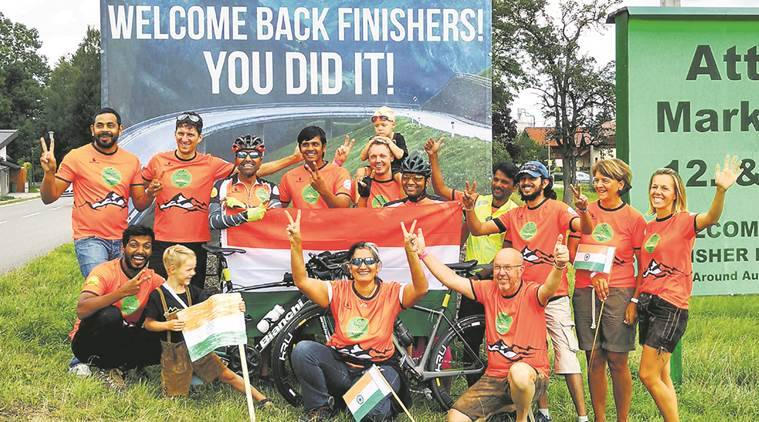 Pune news, Race Around Austria, Puneites involved in Race Around Austria, India news, National news, Latest news