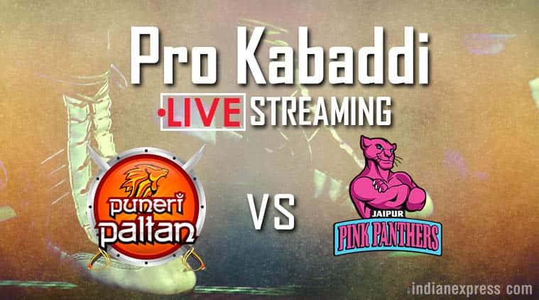 Pro Kabaddi 2017, Pro Kabaddi season 5, Puneri Paltan vs Jaipur Pink Panthers live streaming, Pune vs Jaipur, Kabaddi news, Indian Express