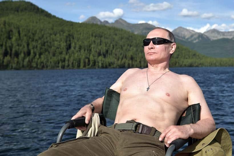 putin, Putin fishing trip, putin in siberia, putin pictures, putin siberia pictures, vladimir putin, russia, russia putin