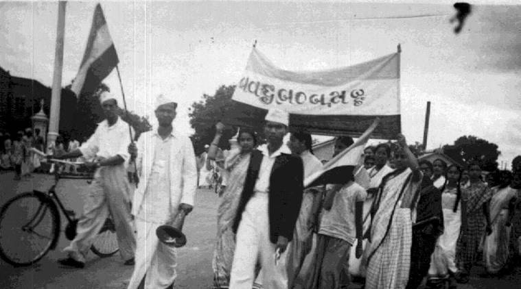 Quit India movement, Quit India movement anniversary, August 15, 71st independence day, independence day celebrations, indian express news