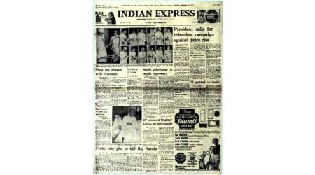 Forty Years Ago, 15 august, Indira gandhi, 1977, history, 1977 india, latest news, indian express