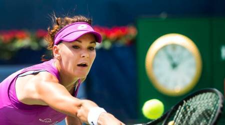 Agnieszka Radwanska gets past Eugenie Bouchard at Connecticut Open