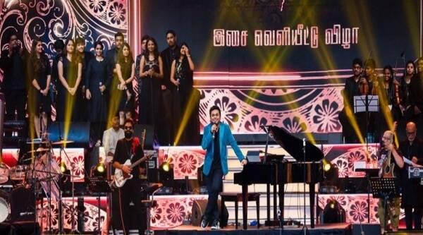 AR Rahman images, AR Rahman Mersal album launch