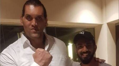 Help me with this man's diet: KL Rahul after meeting The GreatKhali