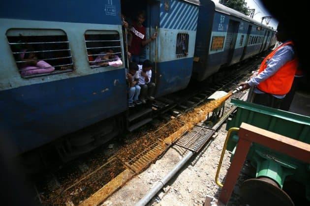 mosquito menace, mosquito terminator train, northern railways, mosquito breeding railway tracks, railway track mosquito breeding, latest news, indian express