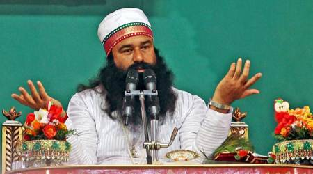 Gurmeet Ram Rahim Singh, Ram Rahim rape conviction, 10 years jail for Ram Rahim, Dera Sacha Sauda, Rohtak jail, Haryana, ram rahim drama, ram rahim news, indian express
