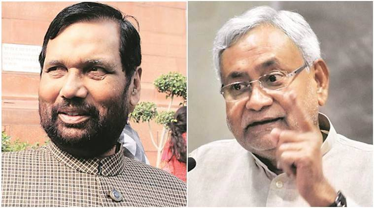 Ram Vilas Paswan, Nitish Kumar-led JD(U), Bihar and JD (U), Centre and Bihar government, India news, National news, latest news, National news