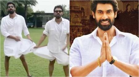 Rana Daggubati celebrates Nene Raju Nene Mantri success with Venkatesh. Watch video
