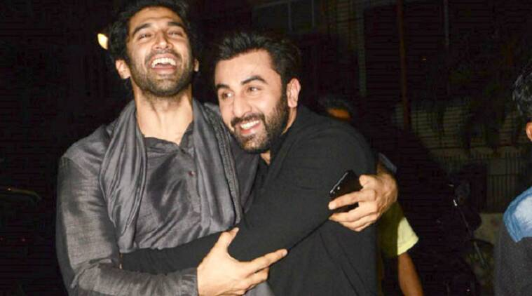 ranbir kapoor, aditya roy kapur, ranbir kapoor aditya roy kapur pics, bollywood friendships, bollywood bffs