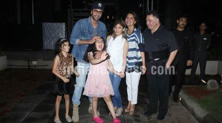 Ranbir Kapoor's playtime with niece Samara at Kapoor family dinner is beyond cute
