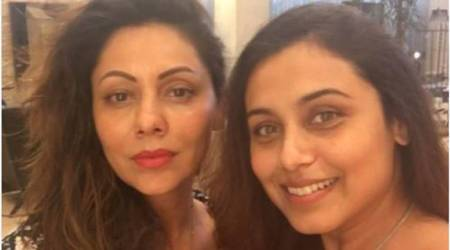 Gauri Khan and Rani Mukerji have a no make-up selfie day-out giving us major friendship goals. See photo