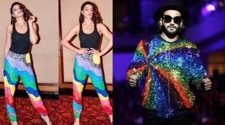 Ranveer Singh or Jacqueline Fernandez: Who carried the psychedelic colours better?