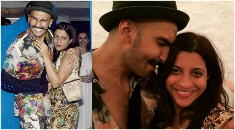 ranveer singh, zoya akhtar, ranveer singh zoya akhtar pics, gully boy, bollywood friendships, bollywood bffs