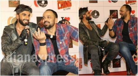 Ranveer Singh is not turning producer with Rohit Shetty's actionfilm