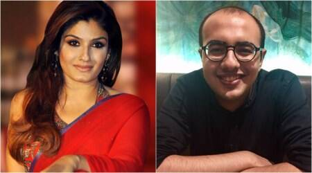 Raveena Tandon teaches Devang Pathak how to block people on Twitter. Here's why