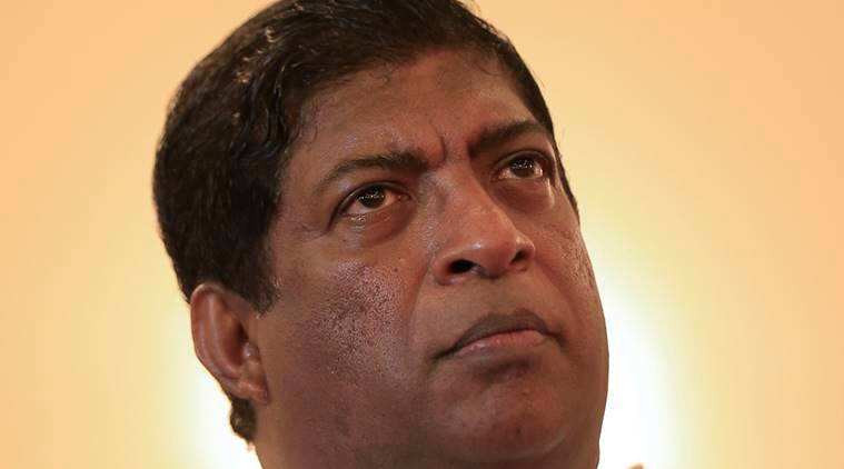 Sri Lanka's Foreign Minister Ravi Karunanayake, Ravi Karunanayake resigned, Ravi Karunanayake corruption charges, Ravi Karunanayake government bond sale, Ravi Karunanayake resignation, world news, indian express news