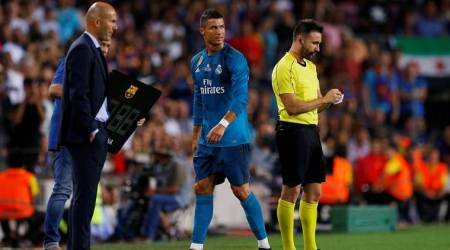 Real Madrid to appeal Cristiano Ronaldo red card, says Zinedine Zidane