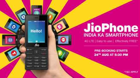 Reliance JioPhone pre-bookings: This 4G feature phone is a threat tosmartphones
