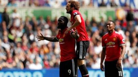 Manchester United, english premier league, Swansea City, Romelu Lukaku