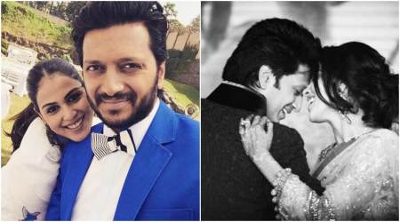 Riteish Deshmukh's cute birthday wish for wife Genelia D'Souza cannot be missed, see photo