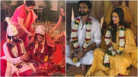 Photos: Riya Sen had a traditional Bengali wedding with boyfriend Shivam Tewari