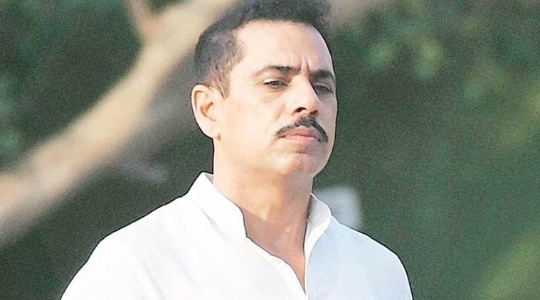 Robert Vadra, Congress on Robert Vadra, Bjp, Congress BJP, Congress response on Robert Vadra issue, Randeep Singh Surjewala, india news, indian express news