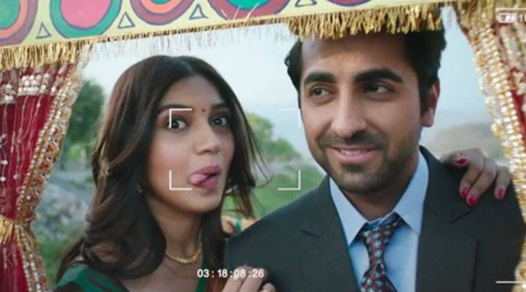 Watch Ayushmann & Bhumi's Playful Romance In Rocket Saiyyan From Shubh Mangal Saavdhan