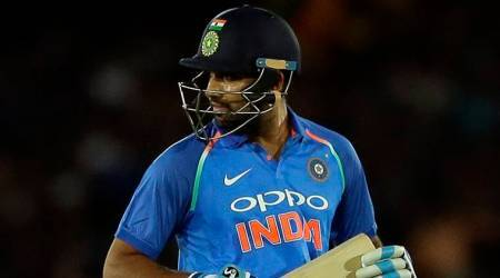 India vs Sri Lanka, Rohit Sharma, Rohit Sharma dismissal, Kapugedara, sports news, cricket, Indian Express
