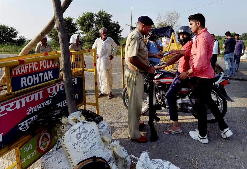 Gurmeet Ram Rahim Singh sentence, Dera Sacha Sauda, Gurmeet Ram Rahim Singh rape charges, Rohtak jail, Rohtak security, Rohatk security pictures, haryana police
