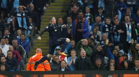 Wayne Rooney taunts Manchester City fans after 200th Premier League goal