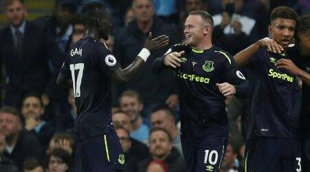 Wayne Rooney nets 200th English Premier League goal, Everton draw 1-1 at Manchester City