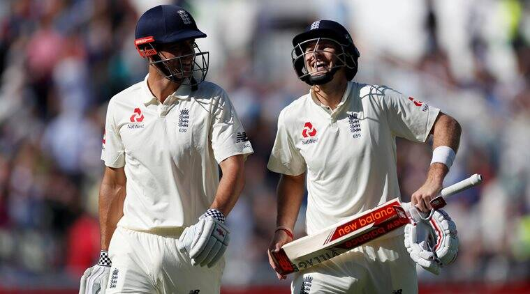 England vs West Indies, Alastair Cook, Joe Root, sports news, cricket, Indian Express