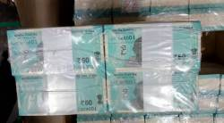 rs 50 notes, 50 rs notes, RBI, RBI 50 rs notes, new currency, 50 rs currency, 50 rs denomination, Mahatma Gandhi, india news, indian express