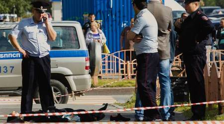 Russia knife attack, Surgut knife attack, ISIS, ISIS on Surgut knife attack, world news, latest news, indian express news