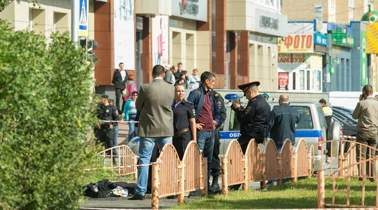 russia stabbing, russia knife attack, islamic state, isis, is, isis attacks in russia, world news, indian express