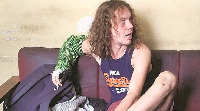 Russian tourist, psychiatric treatment, arrested, bail, Indian express, Gujarat news, india news