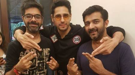 A Gentleman star Sidharth Malhotra debuts as a rapper with song 'Bandook meri Laila'. Seephoto