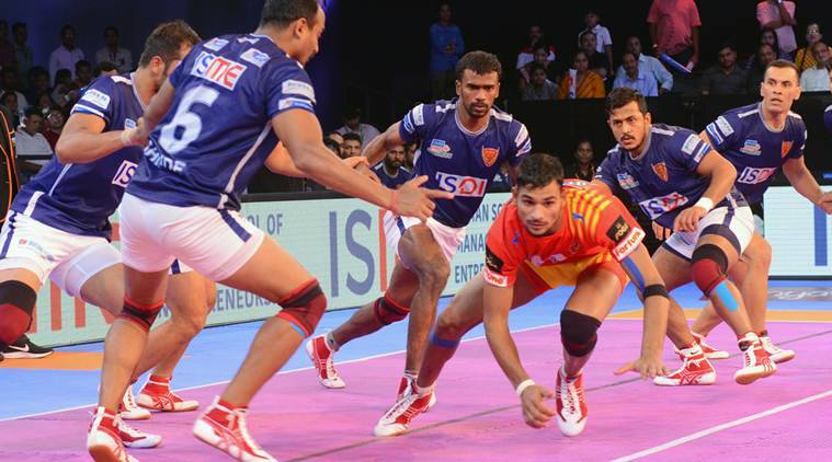 Pro Kabaddi 2017: Gujarat Fortunegiants continue dominance at home