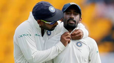 I never felt that Anil Kumble was strict, says Wriddhiman Saha