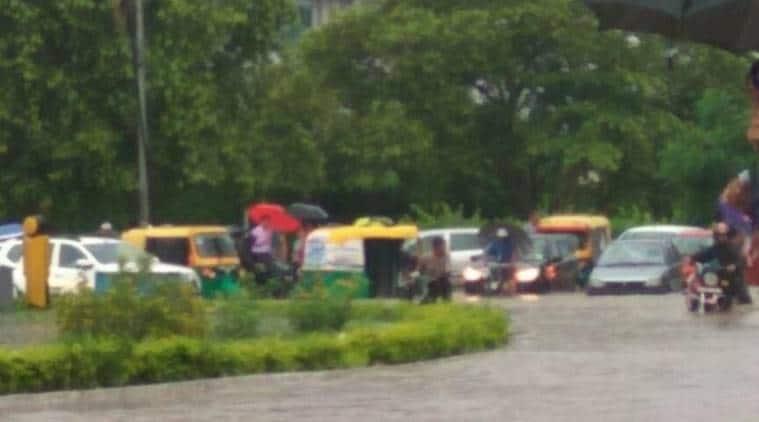 heavy rains, chandigarh rain, mohal rain, panchkula rain, rain tricity, chandigarh rainfall, chandigarh traffic, tricity traffic, Meteorological Department