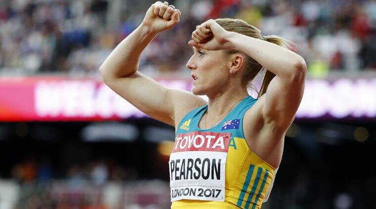 Sally Pearson, World Championship, Indian Express