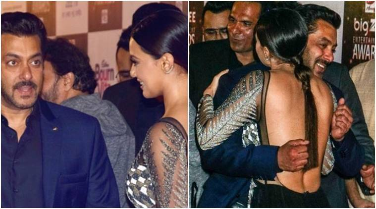 sana khan and salman khan flirting The hotties of bigg boss who salman khan might have had a thing primarily because salman was flirting with her sana also didn't want to miss out on the.