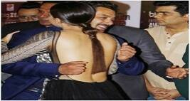 Sana Khan's Awkward Hug With Salman Khan