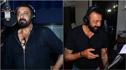 Sanjay Dutt records his first Ganesh Aarti for comeback film Bhoomi