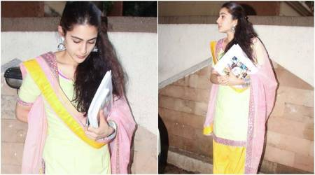 Sara Ali Khan looks exactly like a young Amrita Singh as she starts shooting for Kedarnath