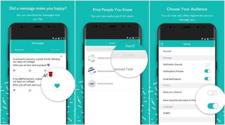Sarahah uploading entire contacts book to their servers:Report