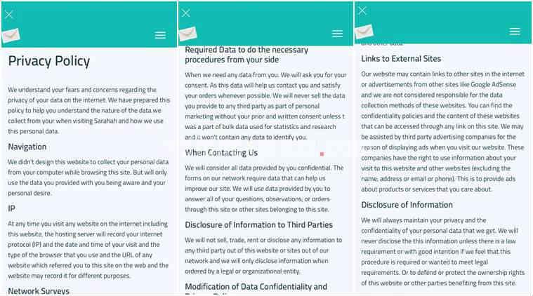 Sararah, Sararah contact access, Sararah messaging, Sarahah website, Sarahah App Store, Sarahah App security risk, Sarahah consent, data privacy, privacy policy