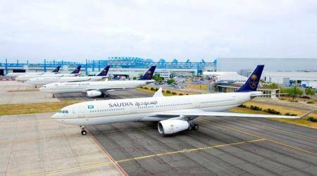 saudia airlines, saudi arabia, saudia airlines dress code, saudia airlines clothes rules, no tight clothes on flights in saudi arabia, indian express, indian express news