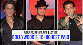 Forbes Announces Bollywood Highest Paid Actors 2017