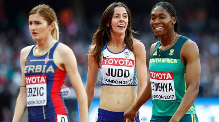 world athletics championships, caster semenya, london athletics championships